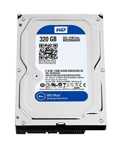 HDD Western 320Gb – Sata –BLUE