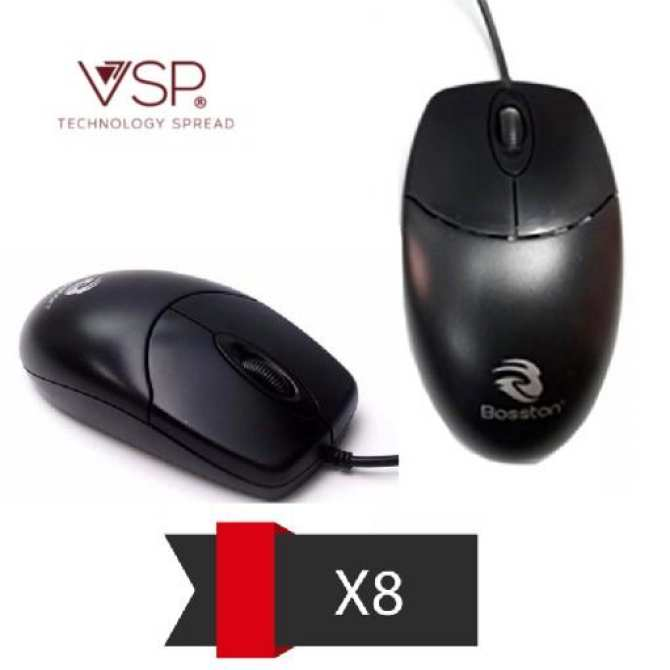 MOUSE BOSSTON X8 LED